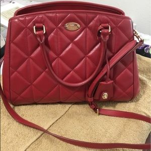 Coach Quilted Leather Small Margot Satchel
